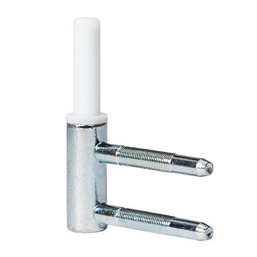 1 Stck. Spezialrahmenteil für 2-tlg. Bänder, Holzzarge für Glastürbeschläge