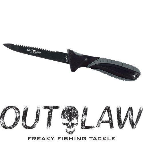 Outlaw Anglermesser aus rostfreiem 7CR17 Stahl