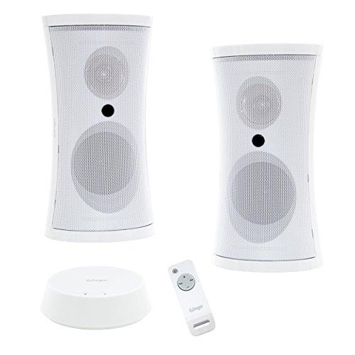 Lautsprecher akustischen Wireless WiFi Leistung sinusoî ¯ Dale 2Î — 5W mit Fernbedienung (Lautsprecher Outdoor Wasserdicht)