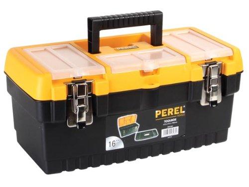 Perel OM16M Werkzeugkoffer mit Metallschlössern, 16' Länge