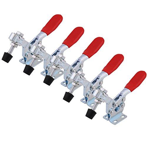 5 Stücke GH-225-D Schnellspanner Knebelklemme, 227 KG 500 lbs, Toggle Clamp Heavy Duty Griff Vertikale Typ