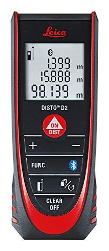 LEICA Entfernungsmesser Disto D2 New Bluetooth, 1 Stück, schwarz, 837031