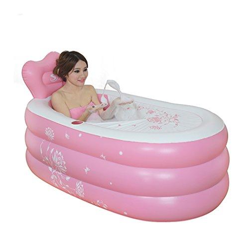 Aufblasbare Badewannen-erwachsene Badewannen-faltende Badewannen-Liegerad-warme aufblasbare Badewannen-einfache Badewannen-Wanne ( größe : 150*90*48cm )