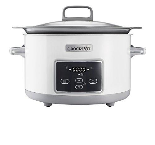 Crock-Pot CSC026X 5 l DuraCeramic Sauté Schongarer / Slow Cooker