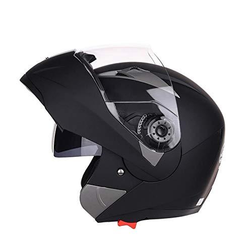 Kbsin212 Motorradhelm Motocross Klapphelm Herren Integralhelm Fullface Helm - Absorption der Stoßkraft Belüftet Atmungsaktiv Für Damen Herren Erwachsene
