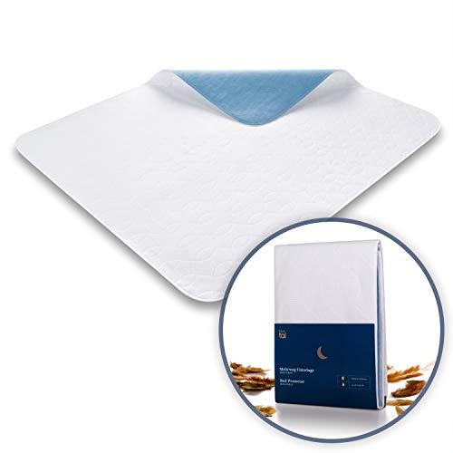 Blumtal Matratzenauflage, wasserdicht und waschbar - Saugvlies, 75x90cm, Inkontinenzauflage, 1er & 2er Set