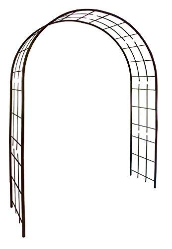 Louis Mühle 3006Rosenbogen für Kletterpflanzen Metall Eisen antik 180x 50x 250cm