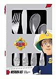 p:os 27138 - Besteckset, Feuerwehrmann Sam, 4 teilig