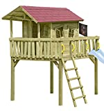 Gartenpirat Stelzenhaus Maxi-Fun Spielhaus für Kinder aus Holz