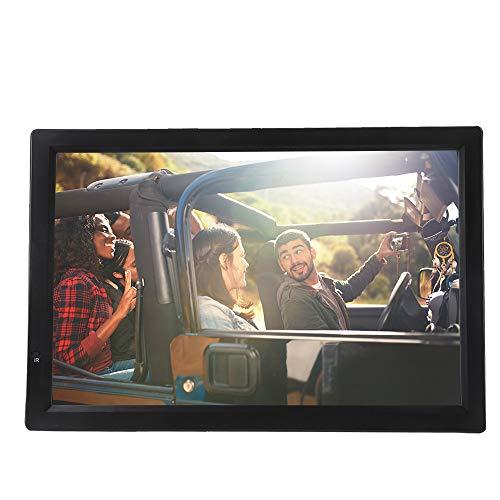 ASHATA 14 Zoll Tragbarer DVB-T/T2 Fernseher, LCD HDTV Digital Analog Fernseher Auto ATV/UHF/VHF Portable TV,1080P Video/AV/HDMI//VGA/USB/SD/MMC-Karte Auto Digital TV mit Fernbedienung Schwarz