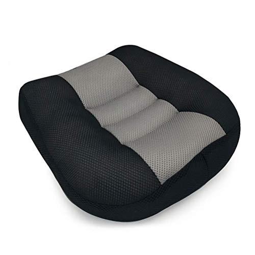 SXTYRL Autositz Stützkissen, Sitzmatte für Ischias Relief Entspannen Sie Sich Tröster Kissen mit Griff Sitzpolster Verbessern Sie die Körperhaltung zu Hause, in Bürostühlen, im Rollstuhl, B