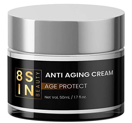 EINFÜRUNGSPREIS | Anti-Aging Creme | Hyaluronsäure | Feuchtigkeitspflege für Gesicht und Augen | Gesichtscreme | Für Männer und Frauen