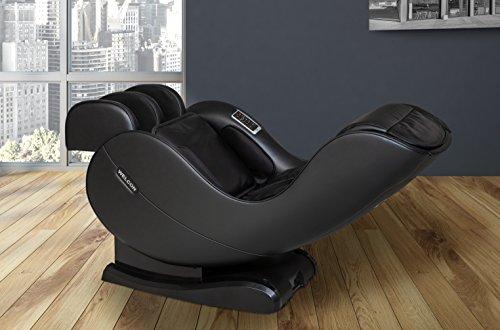 welcon.de - Massagesessel Welcon Easyrelaxx 2018 mit Wärmefunktion in Kunstleder schwarz - unser neuer Massagestuhl jetzt günstig im Angebot - Neigungsverstellung elektrisch L-Shape Automatikprogramme Knetmassage Klopfmassage Rollenmassage Airbagmassage Kompression