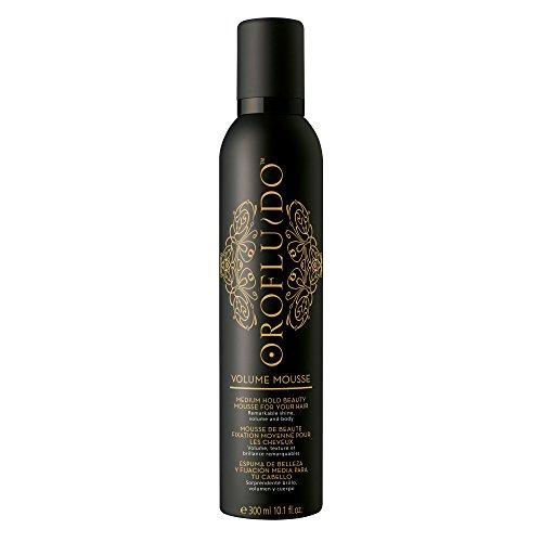 OROFLUIDO Volume Mousse Haarschaum mittlerer Halt - glänzendes Finish - Hitzeschutz, 300 ml