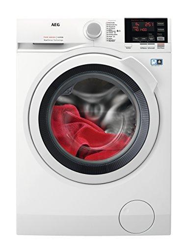 AEG L7WB65684 Waschtrockner / A / 180 kWh/Jahr / 1600UpM / 8kg / 10800 L/jahr / DualSense / ProSense / Weiß