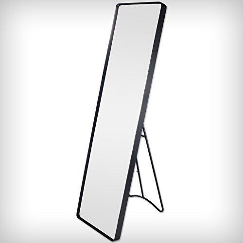 DRULINE Standspiegel Garderobenspiegel Ankleidespiegel Ganzkörperspiegel Spiegel