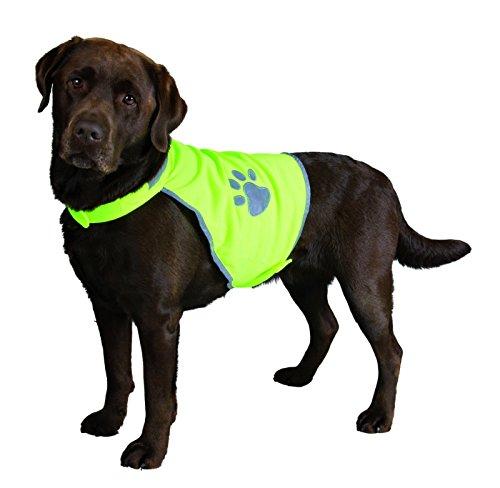 Trixie 30082 Sicherheitsweste, für Hunde, M 50-68 cm