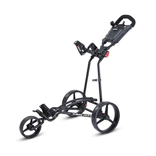 Big Max Ti 1000 Autofold+ Golf Trolley, Unisex - Erwachsene, Bigmax Ti 1000 Autofold +, Schwarz