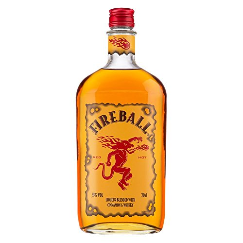 Fireball Likör Blended With Cinnamon & Whisky (1 x 0.7 l)