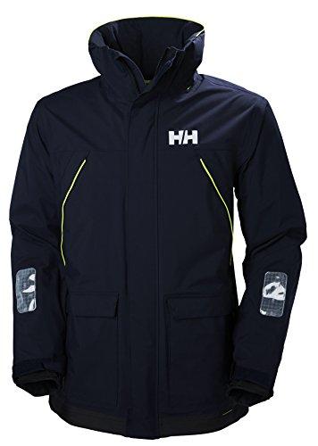 Helly Hansen PIER JACKET - Atmungsaktive Segeljacke mit Reflektoren zum Segeln, Wandern oder Skifahren - Wasserdichte Allwetter-Jacke für Herren