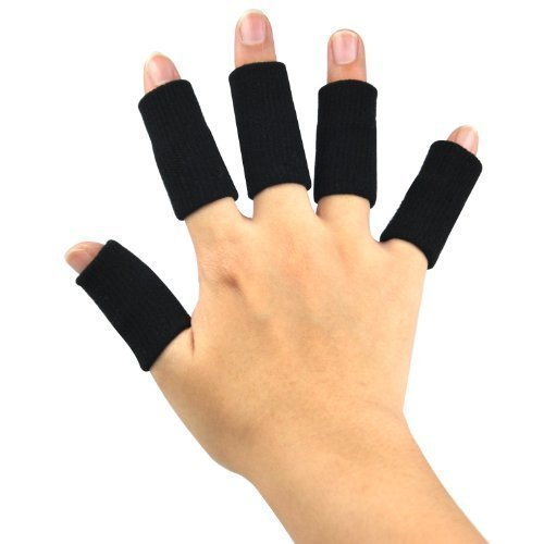 TRIXES Dehnbare Fingerverband zum Schutz beim Sport und bei Arthritis, 10 Stk.