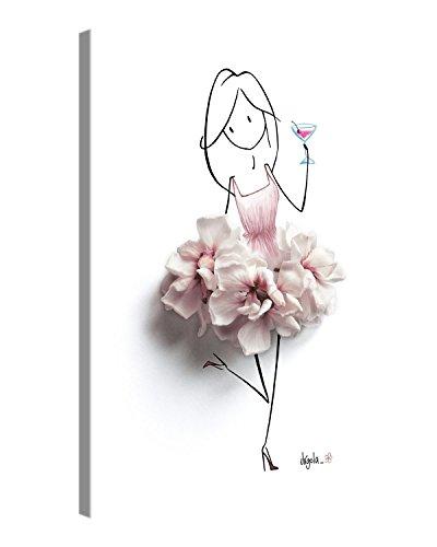 Premium Leinwandbilder – FRIDAY – 60x80 cm – Kunstdrucke auf Leinwand auf 2 cm Holz-Keilrahmen – Deutscher Marken-Qualität von Virgola Art x Gallery of innovative Art