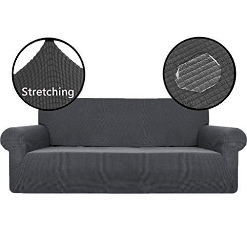 OldPAPA Strecken Sofabezug Sofaüberwürfe Wasserdicht Sofa Überwürfe Wohnzimmermöbel Beschützer Jacquard Spandex Stoff