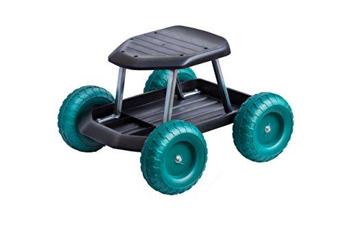 UPP Gartenwagen Rollsitz Gartenhelfer für rückenschonendes Arbeiten Rollwagen Werkstattwagen Sitzroller Roller Garten