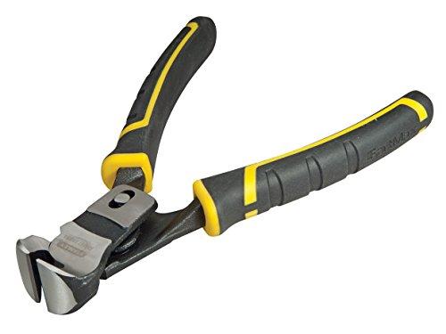 Stanley FatMax Duo-Kraftvornschneider Kneifzange (Carbon-Stahl, Doppelgelenk, Zwei-Komponenten-Griff) FMHT0-71851