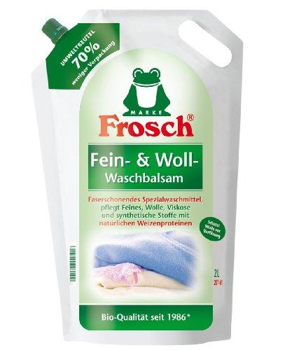 Frosch Fein- & Woll-Waschbalsam, 2er Pack (2 x1,8 l)