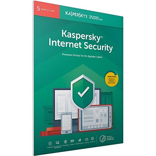 Kaspersky Internet Security 2019 Standard | 5 Geräte | 1 Jahr | Windows/Mac/Android | FFP | Download