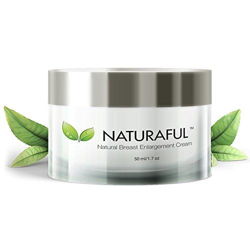 NATURAFUL - (1 Gläser) Beste Brustvergrößerungscreme - natürliche Brustvergrößerung, Straffungs- und Liftingcreme von über 100.000 Nutzern vertrauenswürdig Wertpaket von €70