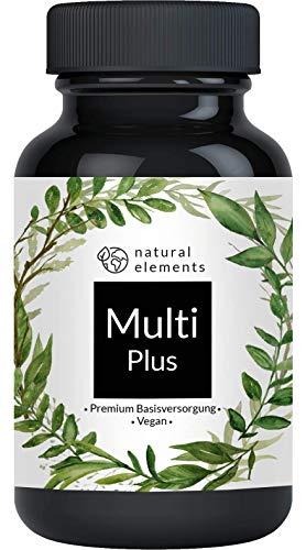 Multivitamin - Einführungspreis - Umfangreicher Komplex mit Premium-Rohstoffen - 180 Kapseln - Hochdosiert, vegan, hergestellt in Deutschland