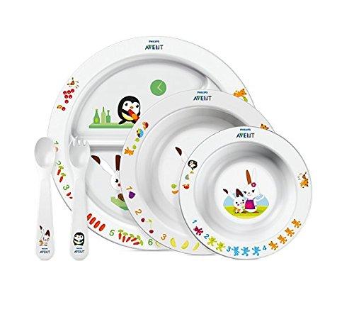 Philips Avent SCF716/00 Großes Ess-Lern-Set (für Kinder ab 6 Monaten)