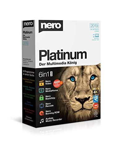 Nero Platinum 2019