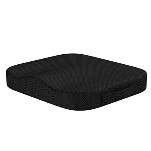 bonmedico Comfort Cushion, Orthopädisches Sitzkissen Für Besten Sitzkomfort, Orthopädische Wirkung Durch Druckentlastung Und Entspannung Beim Sitzen, Universell Einsetzbar, Waschbar