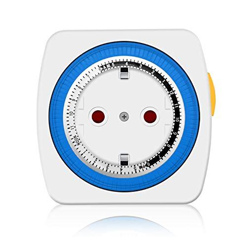benon B2183 mechanische Zeitschaltuhr, mit Kindersicherung - 3680W, 96 Schaltsegmente
