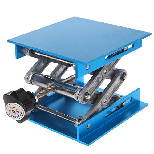Duyummy 4'x4' Aluminium Fräser-Hubtisch Holzbearbeitung Gravur Labor Heben Stand Rack