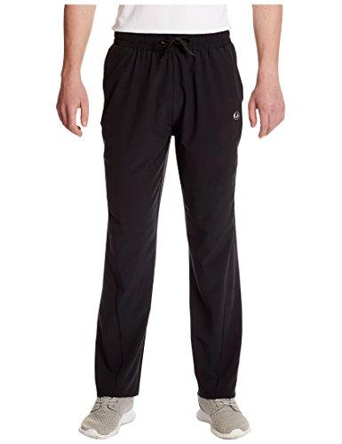 Ultrasport Advanced Herren Yoga-/Fitnesshose Jivan mit Bi-Stretch, Schwarz, L