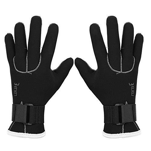 VGEBY1 Tauchhandschuhe, 5 Finger Warme Schwimmhandschuhe Tauchzubehör für Schnorcheln Kajakfahren Tauchen Surfen(L)