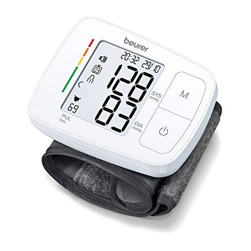 Beurer BC 21 Handgelenk-Blutdruckmessgerät, mit Sprachausgabe in Deutsch, Englisch, Französisch, Italienisch oder Türkisch