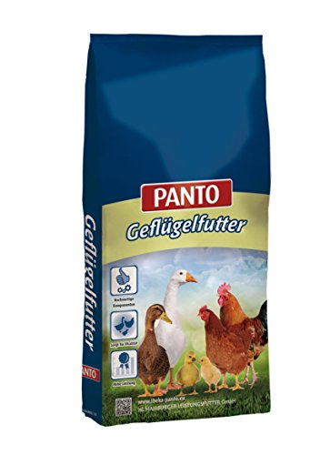 PANTO Geflügelmix Vlog Geflügelkörnermischung und LMK gemischt, 1er Pack (1 x 25 kg)