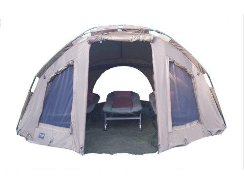 MK-Angelsport '5 Seasons Dome 3,5 Mann deluxe' Zelt Karpfenzelt Angelzelt
