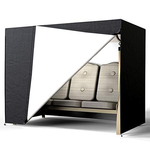 Dandelionsky Schutzhülle hollywoodschaukel 3 sitzer wasserdicht Abdeckung für Gartenschaukel 220 x 170 x 145 cm aus Polyethylen