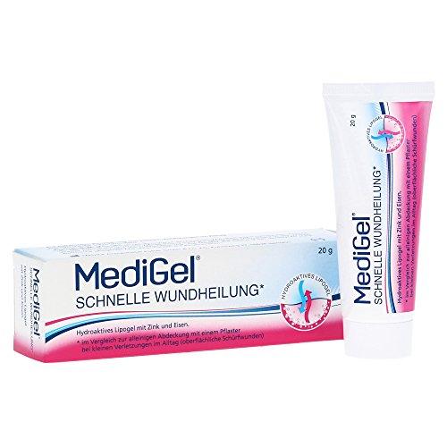 MediGel Schnelle Wundheilung, Spar-Set 2x50g hydroaktives Lipogel. Für alle Wunden im Alltag geeignet. Gut verträglich und für die ganze Familie geeignet.