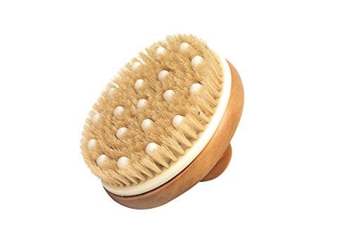 Croll & Denecke Massagehandbürste mit Holzknauf