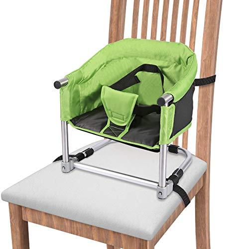 Baby Boostersitz Portable Sitzerhöhung Kindersitz Höhenverstellbar Hochstuhl, Ideal für zu Hause und unterwegs