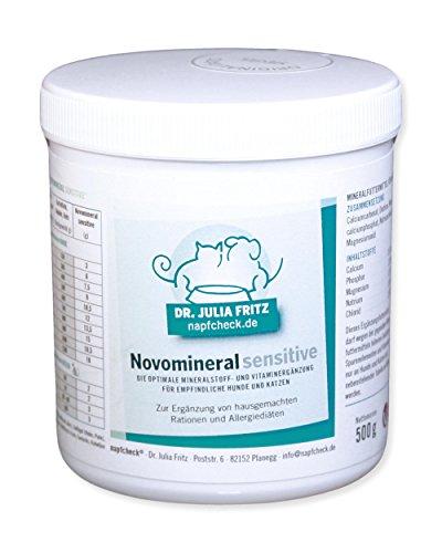 Napfcheck  Novomineral sensitive - Mineralien und Vitamine für Hund & Katze - 500 g