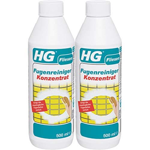 Gardopia Sparpaket: HG Fugenreiniger Konzentrat 2x 500ml - entfernt starke Verunreinigungen