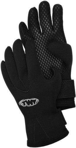 TWF 3 mm Handschuhe - schwarz, L